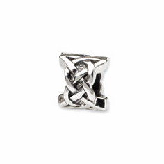 Sterling Silver Reflections Celtic Bead