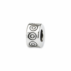 Sterling Silver Reflections Circles Bali Bead