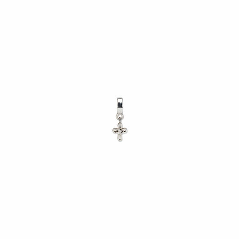Sterling Silver Reflections Cross Dangle Bead