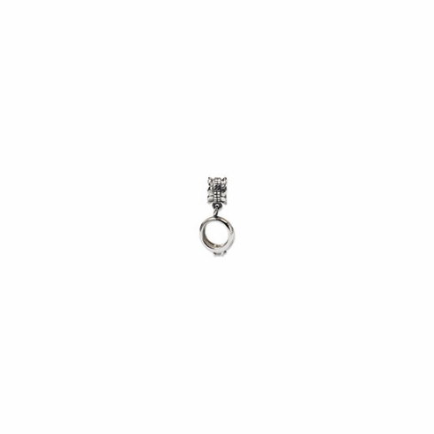 Sterling Silver Reflections CZ Engagement Ring Dangle Bead