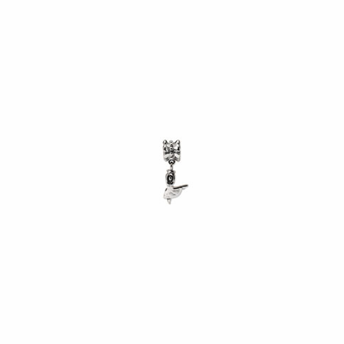 Sterling Silver Reflections Dancer Dangle Bead