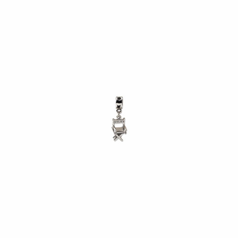Sterling Silver Reflections Directors Chair Dangle Bead