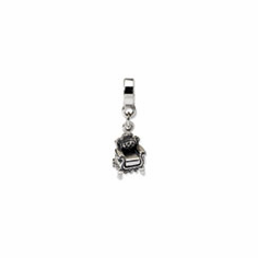 Sterling Silver Reflections Fancy Chair Dangle Bead