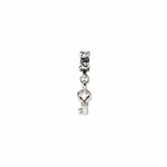 Sterling Silver Reflections Flip Flop Dangle Bead