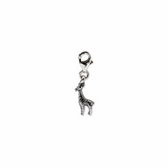 Sterling Silver Reflections Giraffe Click-on for Bead