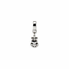 Sterling Silver Reflections Heart, Cross & Anchor Dangle Bead