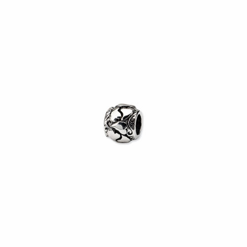 Sterling Silver Reflections Hearts Bead