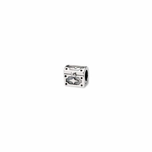 Sterling Silver Reflections Hope Chest Bead