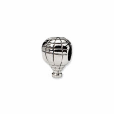 Sterling Silver Reflections Hot Air Balloon Bead
