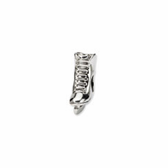 Sterling Silver Reflections Ice Skate Bead