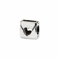 Sterling Silver Reflections Love Note Bead