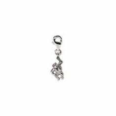 Sterling Silver Reflections Monkey Click-on for Bead
