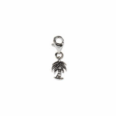 Sterling Silver Reflections Palm Tree Click-on for Bead