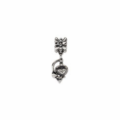 Sterling Silver Reflections Purfume Atomizer Dangle Bead