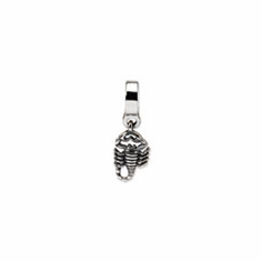 Sterling Silver Reflections Scorpion Dangle Bead