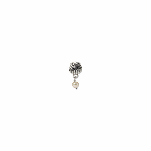 Sterling Silver Reflections Shell Freshwater Cultured Pearl Dangle Bead
