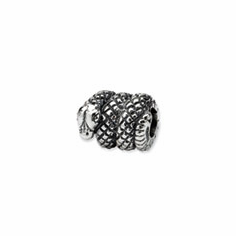 Sterling Silver Reflections Snake Bead
