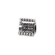 Sterling Silver Reflections Someone Special Triangle Bead