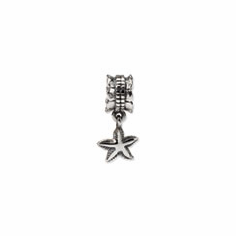 Sterling Silver Reflections Starfish Dangle Bead