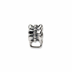 Sterling Silver Reflections w/Loop for Click-on Bead