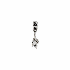 Sterling Silver Reflections Wheelbarrow Dangle Bead