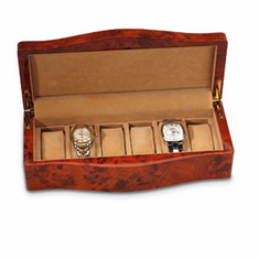 Wave Design Watch Box