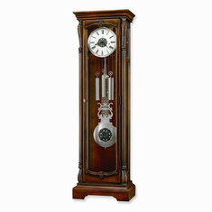 Wellington Cherry Finish Floor Clock-- Model 611122