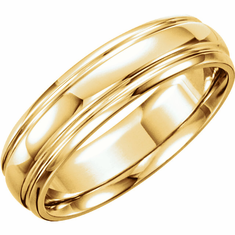Yellow Gold Bands