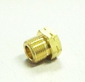 93 Western / N-74 Superior Nut Brass CGA 590 (1-Pack)