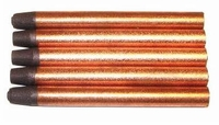 Carbon Electrode Shrink Rod - Copperclad 10mm (5-Pack)