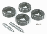 """Drive Roll Kits """"V"""" Groove Miller S54A Series (4-Roll)"""