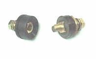 "SE10-25 MALE 3/8"" Dinse Connector - 200 Amp (1-Pack)"