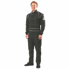 1-Piece Crow Nomex Racing Suit