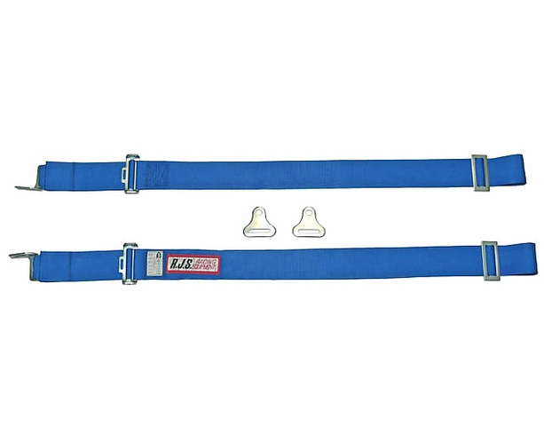 """2"""" Individual Shoulder Harness - Wrap Around or Bolt-in Ends"""