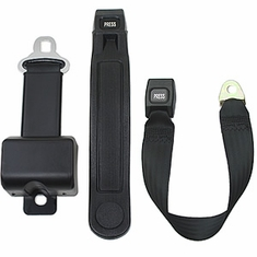 "2 Point Retractable Lap Belt - 8"" Long Housing Seatbelt"