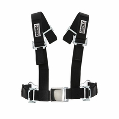 2 x 2 Crow UTV Seat Belt Individual Harness Auto Style Lift Buckle