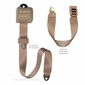 3 Point Roadster Retractable Seat Belt for Bench Seat
