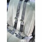 4 Point Seat Belt Chrome Lift Lever Buckle (Gray Shown) - alternative view 1