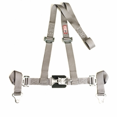 "RJS 2"" Wide UTV or Off-Road Latch n Link Harness - Sewn-in Floor-Mount Shoulder Harness"