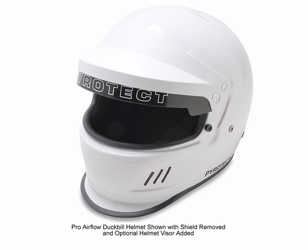 Auto Racing Pyrotect Helmet Pro Airflow Duckbill SA2015  - alternative view 4