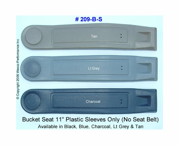 Bucket Seat 11 inch Plastic Sleeve - Only