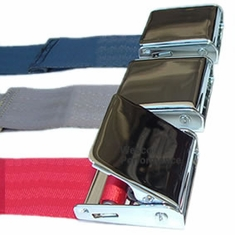 Chrome Lift Lever Lap Seat Belt
