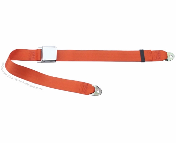 Chrome Lift Lever Lap Seat Belt  - alternative view 1