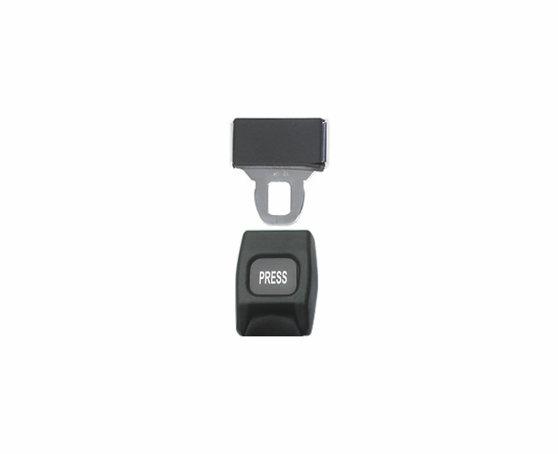Conversion Van Seat Belts - Push Button Non-Retractable - alternative view 2