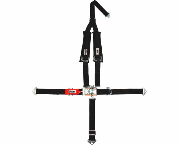 Crow 5 Point Utv Off Road Seatbelt 2 Wide Y Type Harness