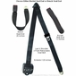 End Button Release 3 Point Retractable Seat Belt for Convertibles or Hardtops