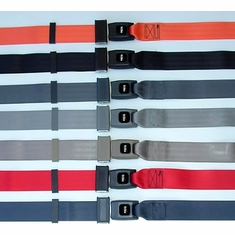 Golf Cart Seat Belts - Push Button Non-Retractable