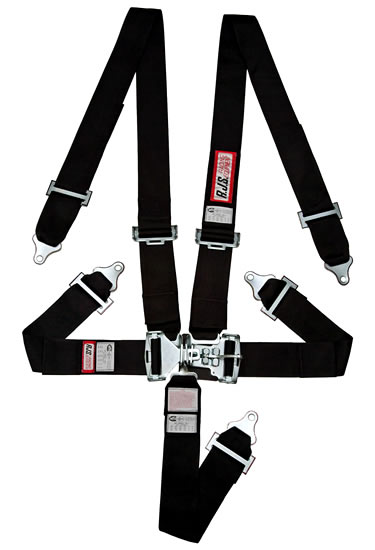 Individual Bolt In Wrap Floor Mount Seat Belts 5 Point Harness