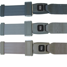 Industrial / Military Seat Belts / Amusement Ride (Non-Retractable)