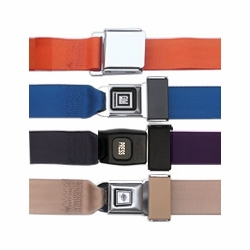 Lap Belts - Choose Seatbelt Buckle Style